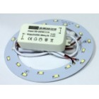 Circular LED Ø140mm 100..240VAC 9W 760lm 6000K 5730 SMD