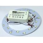Circular LED Ø140mm 100..240VAC 9W 760lm 6000K 5730 SMD
