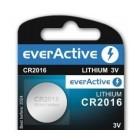 Batería de litio CR2016 3.0V - everActive