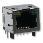 RJ45 female with yellow and green LEDs to solder chassis 90 - AMP 2-406549-1