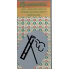 (Smoking) Plastic Oval Sticker
