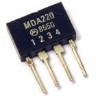 Bridge rectifier MDA220 100V 2A