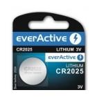 Batería de litio CR2025 3.0V - everActive