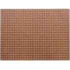 circuit board pre-perforated 75x100x1.5mm (tracks)