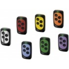 Universal remote control for garage Rolling-Code 433.92MHz (4 keys) -assorted colors - Jane Top A