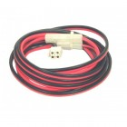 DC power cable, 4P, 3mts, with fuses