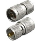 UHF adapter (PL259) male - N male