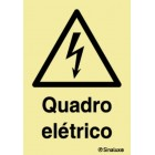 Signaling plate for Electrical Panel (portuguese)
