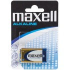 Alkaline battery 9V 6LR61 - Maxell Alkaline