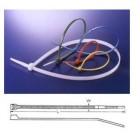 Self-locking nylon cable tie  white 300 x 3,5 mm  (100pçs)