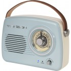 PORTABLE NOSTALGIA RADIO WITH BLUETOOTH & FM 30W