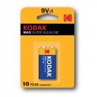 Alkaline battery 9V 6LR61 - Kodak Alkaline Max [1 unid.]