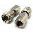 FME Male / MINI UHF Male Adapter