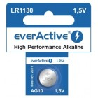 Battery LR1130/ AG10 1.5V-70mAh (everActive)
