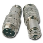 microphone plug male 4-pin cable
