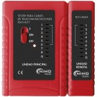 LAN TESTER FOR RJ45 (8P8C), RJ12 (6P6C), RJ11 (6P2C) - NIMO
