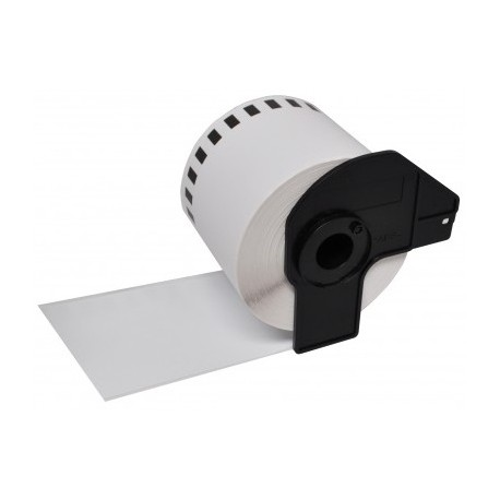 Paper roll, solid white sticker Compativeis DK-22205 Brother