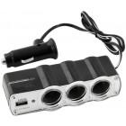 3x Lighter + USB Adapter