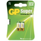 Battery alkaline N LR1 1,5V  2un.- GP