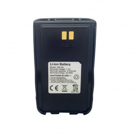 QB-44L - Battery for Anytone AT-D868UV / AT-D878UV 7.4 V., 2100 mAh, Li-Ion.