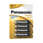 Alkaline batteries 1,5V LR6 / AA - Panasonic ALKALINE POWER [4 unid.]
