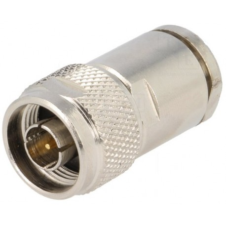 RG59 Ø6mm male welding plug for cable