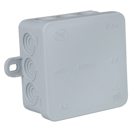 Waterproof Case 75x75x37mm IP55