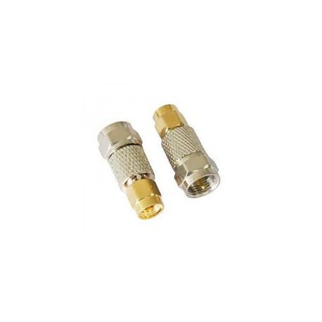SMA Male to Male F Adapter