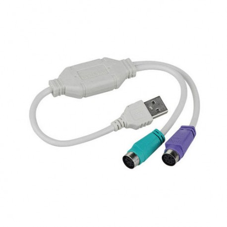 USB Adapter / Converter - PS / 2 (mouse + keyboard)