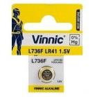 Battery V392/SR41SW/AG3/LR41/192 1.5V - VINNIC