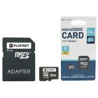 32GB MicroSD Memory Card with SD Adapter (CLASS 10) - PLATINET