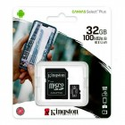 Memory Card 32GB MicroSD SDCS2 100 MB/s (Clase 10) - Kingston Technology Canvas Select