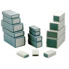 plastic box 90 x 50 x 16 mm DARK GREY
