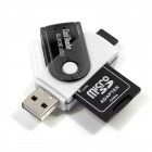 Universal USB Memory Card Reader (All in One)