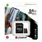 Memory Card 64GB MicroSD SDCS2 100 MB/s (Clase 10) - Kingston Technology Canvas Select