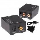 SPDIF and optical digital audio converter (Toslink) - analog