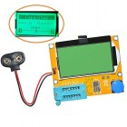 LCR-T4 ESR SCR TESTER WITH LCD12864 FOR DIODE TRIOD CAPACITANCE SCR INDUCTANCE