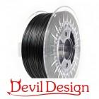 3D Filament - 1.75mm PETG - Black - 1Kg - Devil Design