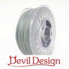 3D Filament - 1.75mm PETG - Gray - 1Kg - Devil Design
