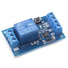 12V DC 10A bistable relay module with self-locking Start-Stop button
