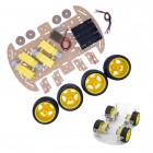 4WD CAR CHASSIS KIT WITH ENCODERS AND ENGINES