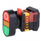 APBB-22-25N DOUBLE AUTO RESET SWITCH 220VAC WITH LIGHT