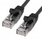 Cable Cat.6A UTP LSZH 100% CU, 26AWG, 5m black