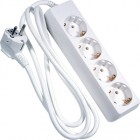 Block of 4 sockets with 1.5m white cable (3GX1.5MM)