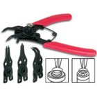 COMBINATION SNAP RING PLIERS