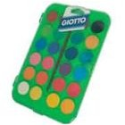 Watercolors Giotto Assorted Colors Cx 24