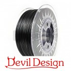 3D Filament - 1.75mm PETG - Black Galaxy - 1Kg - Devil Design