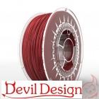 3D Filament - 1.75mm PETG - Red - 1Kg - Devil Design