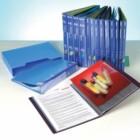 Folder C / 10 Bags Catalog Eagle Black, Customizable in Spine
