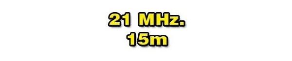 21 MHz./15 METERS